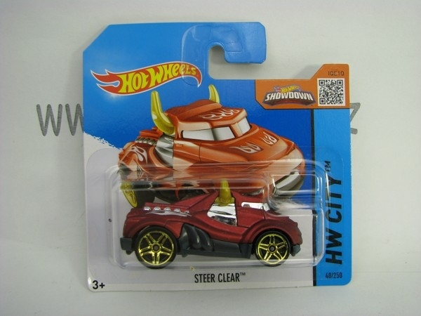 Hot Wheels 2015 Steer Clear HW City CFG78
